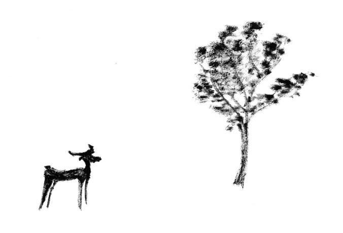 AqWa_20160605_Deer_and_tree